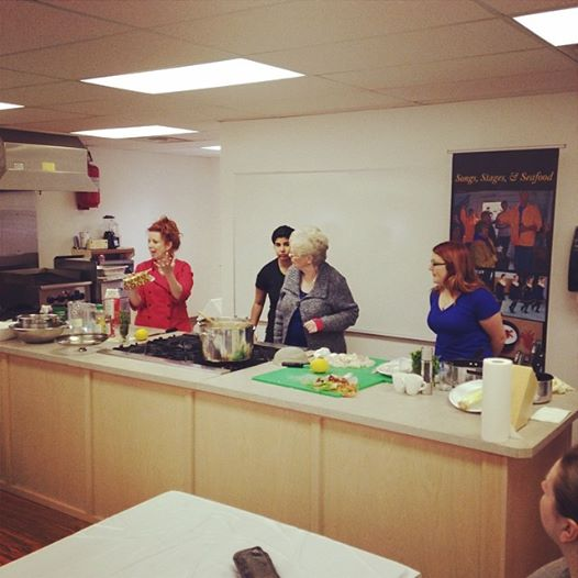 Morning Culinary Workshop with Chef Andrea Maunder of Bacalao St. John's